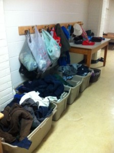 items from the lost and found